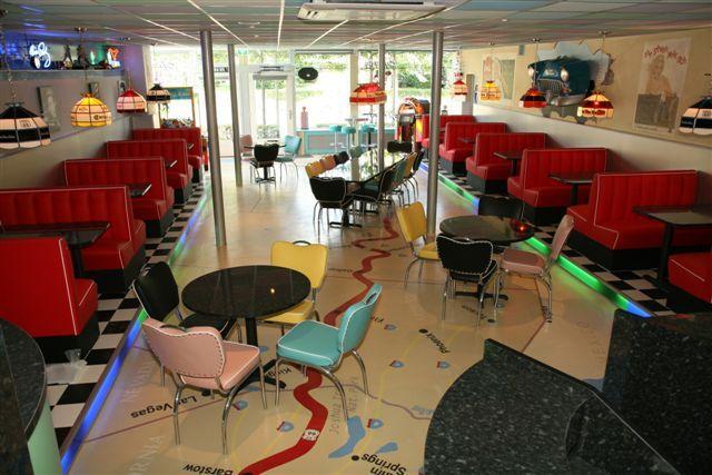 Eethoekbanken Keuken : American Diner Booth
